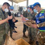 Personel TNI Perdamaian Dunia Check Rotasi Kontingen Spanyol
