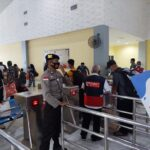 Dari Pelabuhan Polsek Batam Himbau Tetap Jaga Protokol Kesehatan