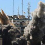 Serangan Roket Israel Runtuhkan Gedung Media Di Gaza, Sekjen PBB: Telah Melanggar Hukum Internasional