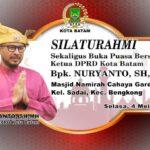 Ketua DPRD Sapa Jemaah Masjid Namirah Bengkong