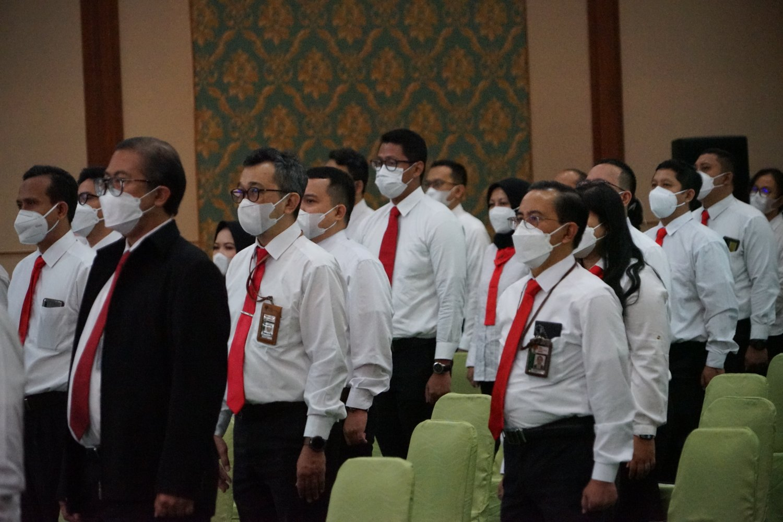 luring digelar di Auditorium LAN RI yang diikuti oleh 50 pegawai perwakilan dari setiap unit kesekjenan dan kedeputian