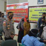 Kapolres: 250 Guru Se Bunguran Timur Ikut Vaksinasi Massal Natuna