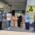 PT Wings Salurkan Bantuan Bagi Pasien Covid 19 Kota Batam