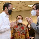 Presiden Jokowi Melayat Mendiang Istri Menkumham Yasonna Laoly