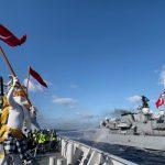 Adat Militer Angkatan Laut, KRI Sultan Iskandar Muda–367: Salam Perpisahan Kapal Perang Turki