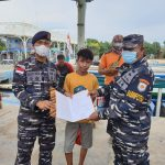 TNI AL Selamatkan Ridho ilhami Terapung di Tengah Laut Selama 3 Jam