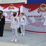 Kepala Bakamla RI Ikuti Upacara Virtual HUT Bhayangkara ke-75