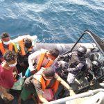 TNI AL Jemput Lima Nelayan Terdampar di Malaysia