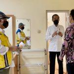 Antisipasi Lonjakan Kebutuhan RS, Presiden Pastikan Kesiapan Asrama Haji Pondok Gede