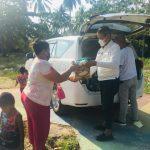 Kunjungi Kampung-kampung, Isdianto Sapa Masyarakat dan Bagikan Sembako