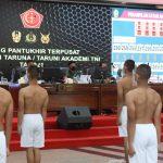 Panglima TNI Pimpin Sidang Pantukhir Terpusat Taruna-Taruni Akademi TNI
