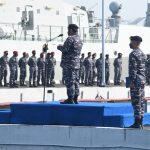 Laksamana Muda TNI Abdul Rasyid Pimpin Apel Khusus di Satuan Koarmada I