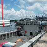 Kerahkan KRI Semarang-594, TNI AL Penuhi Kebutuhan Oksigen di Pulau Belitung