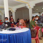 TNI AL Dabo Singkep Kembali Serbu Vaksinasi Kepada Warga