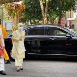 Presiden Jokowi Kenakan Pakaian Pepadun Adat Lampung
