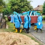 Kapten Laut Yuli Prabowo Danposal Muntok Pimpin Pemakaman Jenazah Terkonfirmasi Covid-19