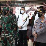 Panglima TNI Tinjau Fasilitas Isoter Pasien