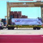 Presiden Jokowi Lepas Produk Pertanian, 17 Pintu Merdeka Ekspor Satunya Di Kota Batam