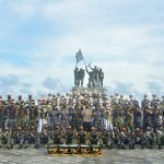 Satgas KJK Unjuk Kebolehan Genderang Suling Gita Jala Taruna Di Morotai