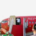 Presiden Jokowi Resmikan Bendungan serta Tinjau Vaksinasi di Sulawesi Selatan