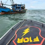 Bakamla Tangkap KIA Malaysia di Perairan Barat Daya Takong Iyu karimun