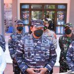 Pangkoarmada II Dampingi Kasal Tinjau Lanal Labuan Bajo