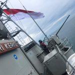 Tingkatkan Naluri Tempur, KRI Dan Pesud TNI AL Latihan Bersama Di Ambalat
