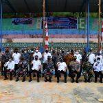 Wabup Anambas Hadir Buka Karya Bakti TNI  Di Desa Batu Belah