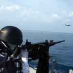 Berhasil TNI AL Menembak Jatuh Pesawat Musuh
