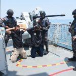 TNI AL Berhasil Bekuk Perompak di Samudera Indonesia
