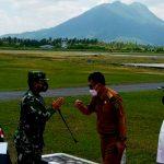 Bupati Dan Ketua DPRD Natuna Sambut Rombongan Pangkogabwilhan I