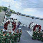 KRI Hasan Basri-382 Dukung Lattek Siswa Satdik-2 Kodiklatal Makassar