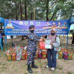 TNI AL Gandeng KADIN dan PWI Bengkulu Gelar Vaksinasi Jenis Sinopharm di KBN