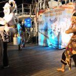 Taruna AAL Gelar Malam Kesenian  atas Kapal KRI Bima Suci di Laut Natuna Utara