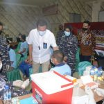 TNI AL Lantamal l Vaksin Warga Binaan Rutan Kelas l Labuhan Deli